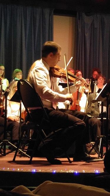Concert Master - Kevin Teichroeb